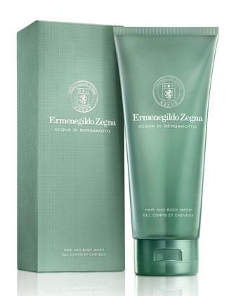 Acqua Di Bergamotto Hair and Body Wash, 6.7 oz.