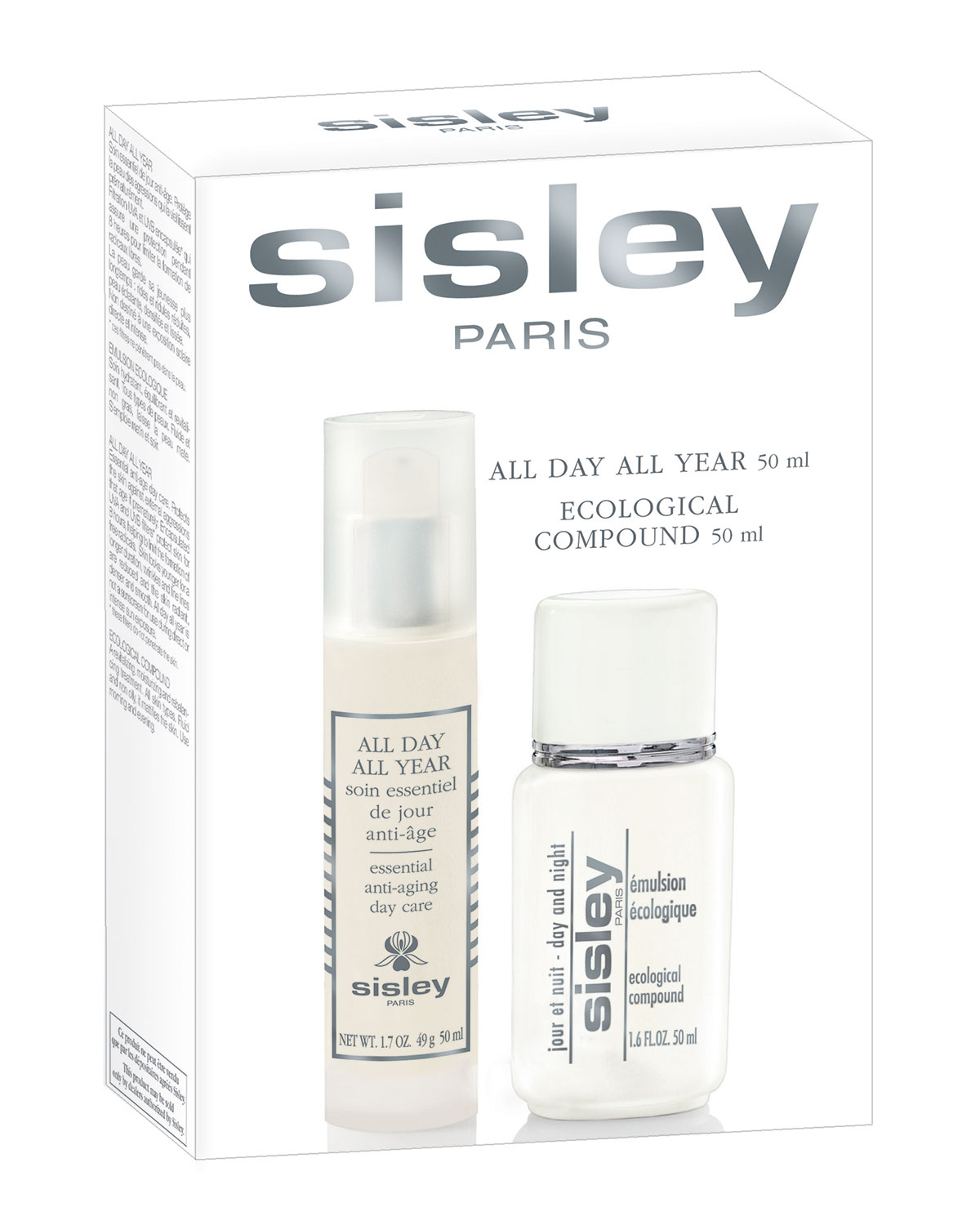 Limited Edition All Day All Year & Ecological Compound Travel Kit ($510 Value) - Sisley-Paris