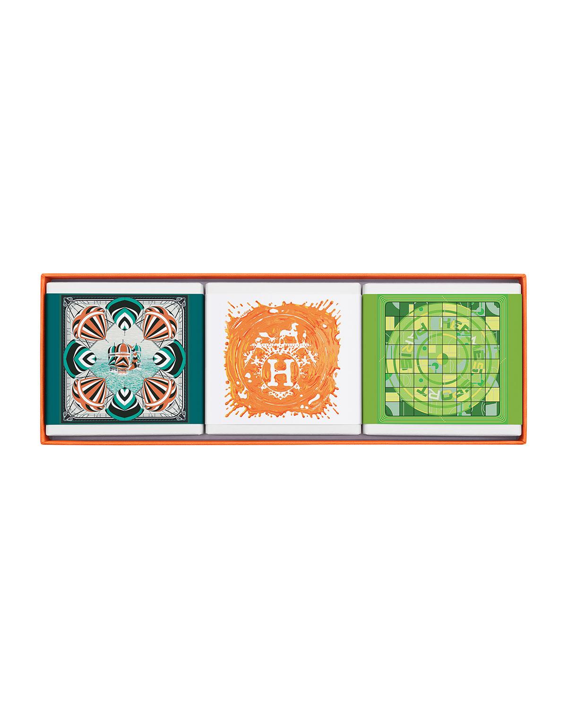 Limited Edition Gift Set Comprised of 3 Cologne Soaps - HERMÈS