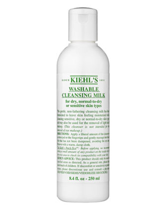 Washable Cleansing Milk, 8 ounces