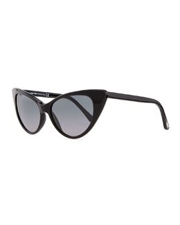 Tom Ford Nikita Cat Eye Sunglasses