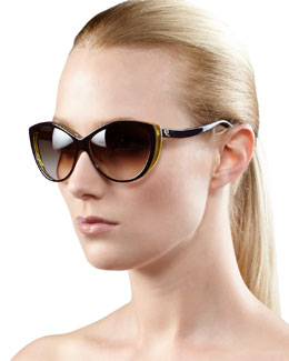 Alexander McQueen Cat-Eye Sunglasses