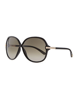 Tom Ford Islay Sunglasses, Black