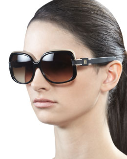 Givenchy Two-Tone Square Frames