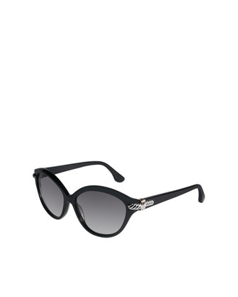 Thoroughbred Sunglasses, Black