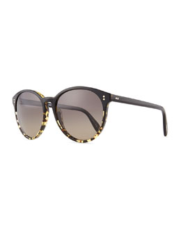 Oliver Peoples Corie Round Retro Sunglasses