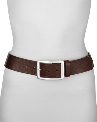 Leather Belt, 1 3/4