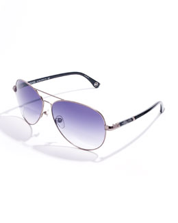 Michael Kors Karmen Aviator Sunglasses