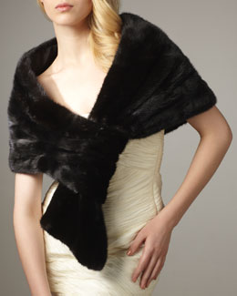 Annabelle New York Mink Loop Stole