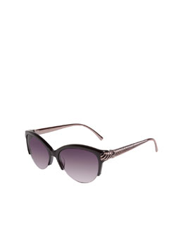 David Yurman Waverly Sunglasses, Black Onyx