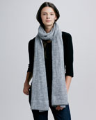 Long Scarf, Charcoal