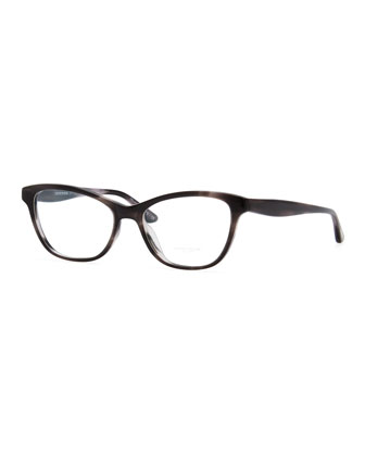 Lorell Rectangular Optical Frames, Gray