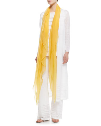 Cashmere Stola Faded Unique, Yellow
