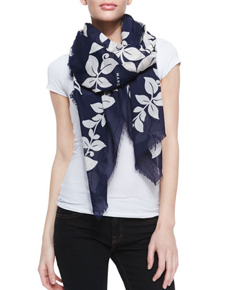 Bread Fruit Printed Scarf