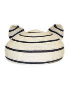 Caterina Striped Hat with Animal Ears