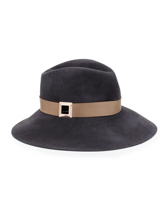 Farrah Winter Fedora Hat