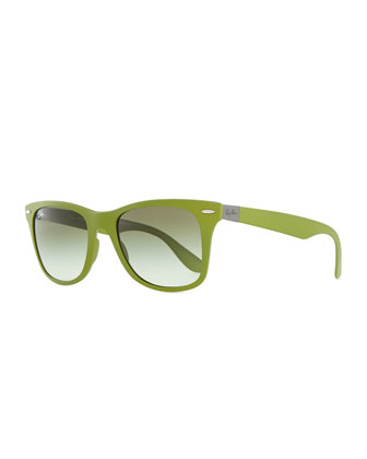 Liteforce Tech Wayfarer Sunglasses, Green