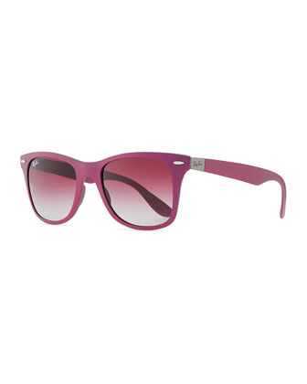 Lite Force Square Sunglasses, Violet