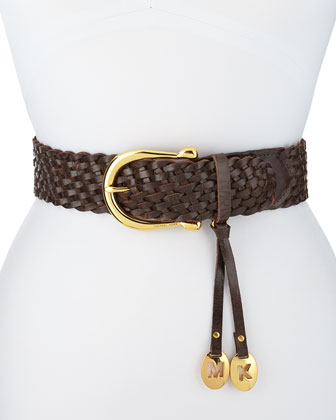 Braided Horseshoe-Buckle Belt