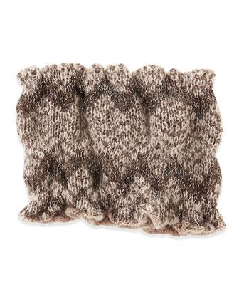 Stretch Knit Headband, Silver