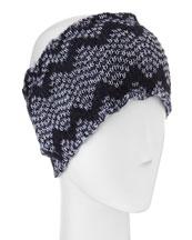 Stretch Knit Headband, Purple