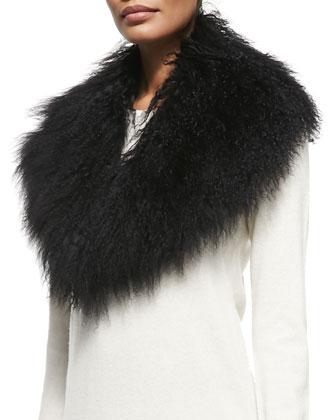Lamb Collar, Black