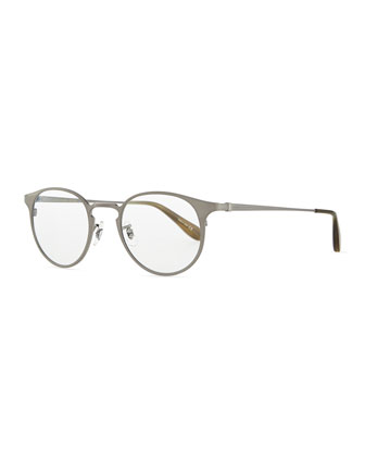 Wildman Round Fashion Glasses, Pewter