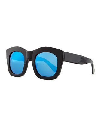 Hamilton Oversized Sunglasses, Black