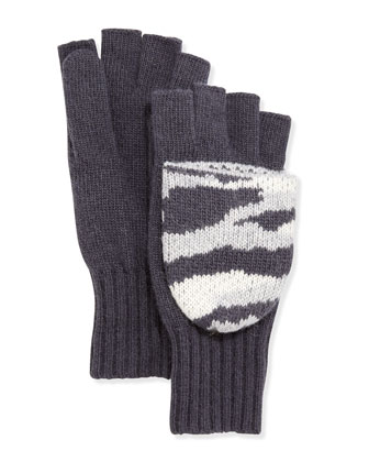 Camouflage Flip-Top Mitten/Gloves