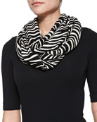 white tiger infinity scarf