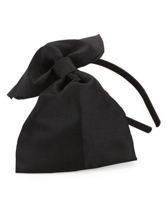 oversized bow headband