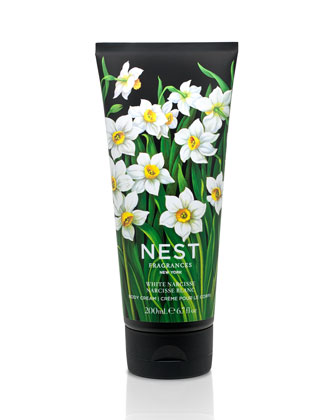 White Narcisse Body Cream, 200ml