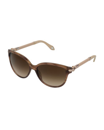 Butterfly Sunglasses, Brown