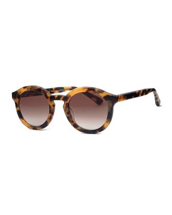Smacky Tokyo Tortoise Sunglasses, Yellow Havana