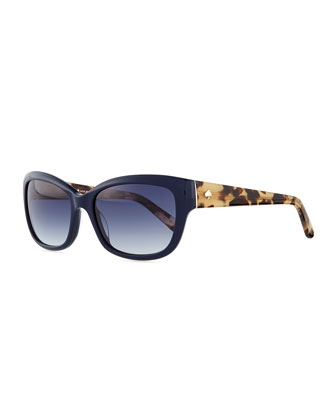 johanna rectangle sunglasses