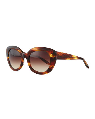 Loulou Butterfly Sunglasses, Banyan Tortoise
