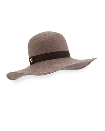 Julie Panama Hat, Brown