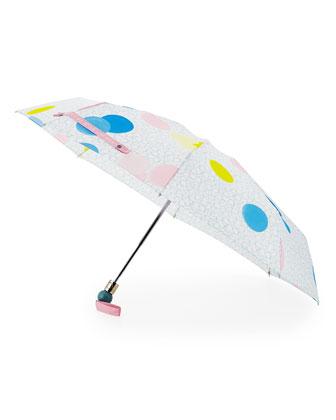 Floating-Spot Umbrella, Cloud Blue