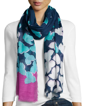 Hanovar Modal Scarf, Midnight Blue