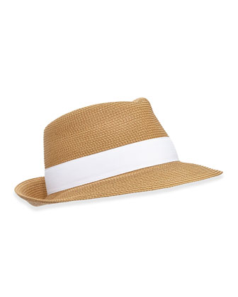 Squishee Classic Hat, Natural/White