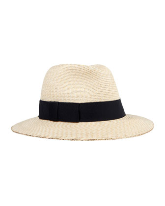 Lillian Hemp Relaxed Fedora