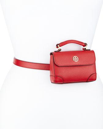 Robinson Saffiano Belt Bag, Royal
