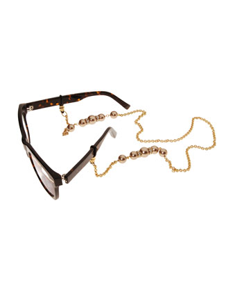 Cadabra Eyeglass Chain w/Beads