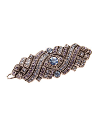 Bavaria Crystal Barrette with Tige Boule