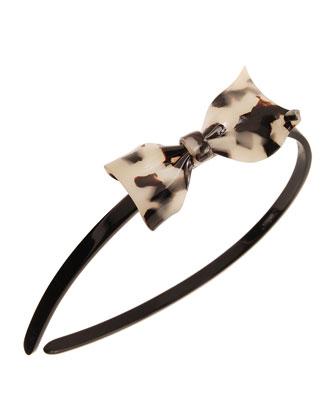 Fairy Bow Acetate Headband