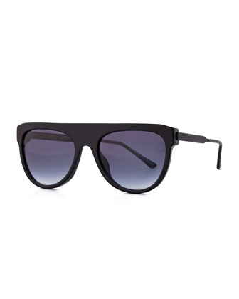 Vandaly Shield Sunglasses, Black