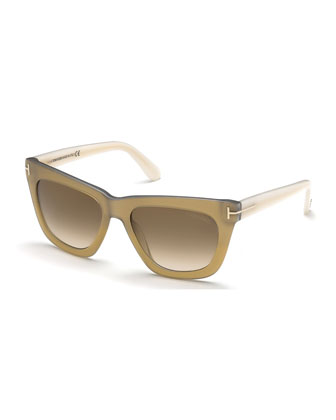 Celina T-Temple Sunglasses, Ivory