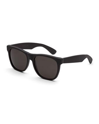 Classic Acetate Sunglasses, Black