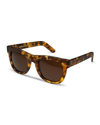 Ciccio Tortoise Sunglasses, Brown