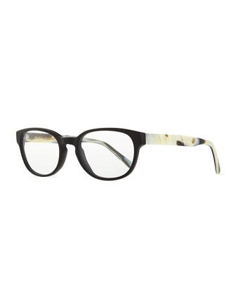 Kent Fashion Glasses, Black/White